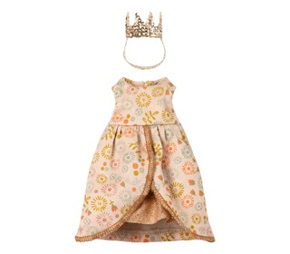 Queen clothes for mouse - Maileg