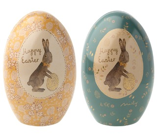 Easter Egg Metal - blue - Maileg