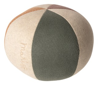 Ball - Dusty green/coral glitter - Maileg