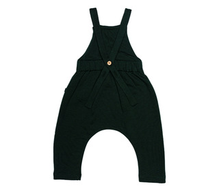 Seaweed dungarees - green - Monkind