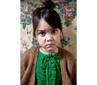 Elena fuzzy camello girls cardigan | Morley for kids