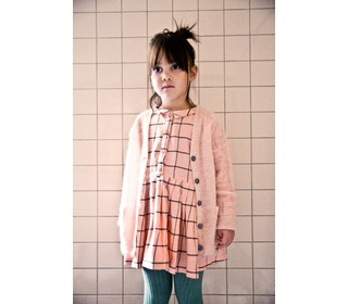 Elise block peachy dress - Morley for kids