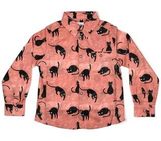 Ben kittycat marzipan boysshirt │Morley for kids
