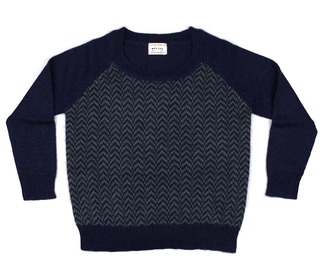 Wintertrui Carrie Indigo/Agave - Morley for kids