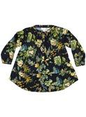 Cybil flora black dress │Morley for kids