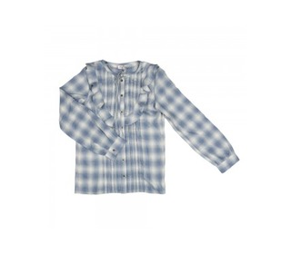 Gaelle Oki Denim Girlsshirt | Morley for kids