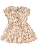 Ernestine coral blush dress