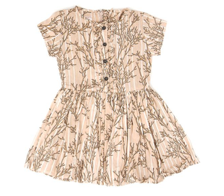 Ernestine coral blush dress - Morley for kids
