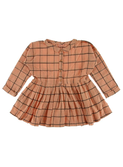 Elise block peachy dress | Morley for kids