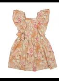 Florence Spring Tan Dress  | Morley for kids