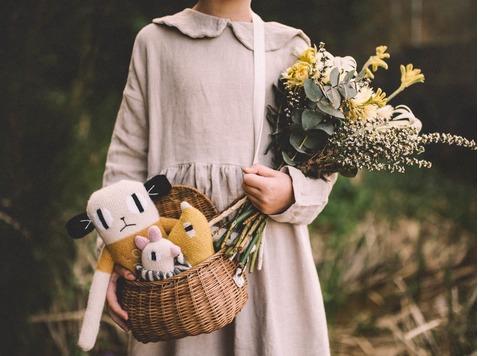 Main Sauvage - zachte, handgemaakte wollen knuffels en speelgoed voor kinderen