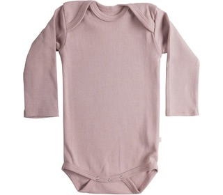 Nebel rib L/S body dusty rose - Minimalisma