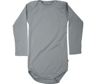Nebel rib L/S body powder blue - Minimalisma