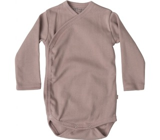 Morris L/S wrap-body dusty rose - Minimalisma