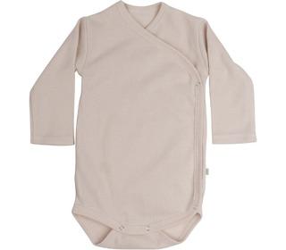 Morris L/S wrap-body pale blush - Minimalisma