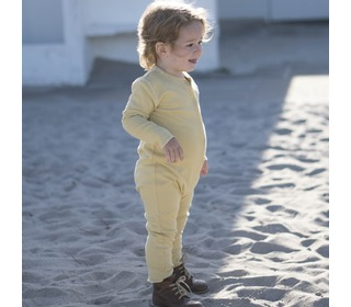 Noor bodysuit lemonade - Minimalisma