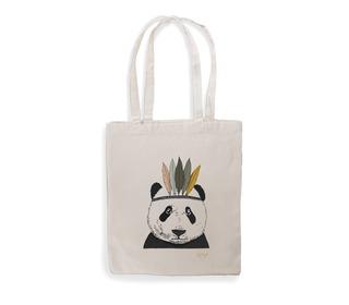 tote bag Indian panda - Minimel