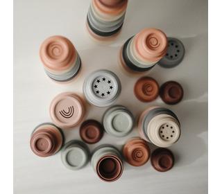 Stacking cups - petal - Mushie