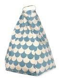 zitzak pouffe Marrakech blue scales