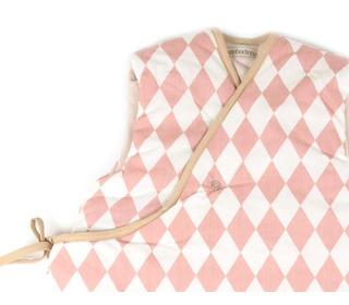 baby slaapzak Montreal pink diamonds - Nobodinoz