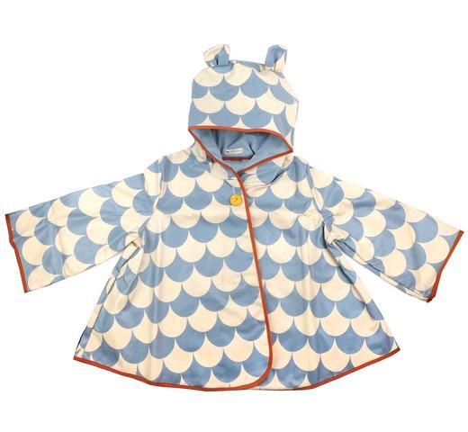 Regenjas voor kinderen blue scales mode accessoires kinderkleding 0 8 jaar nobodinoz - Deco slaapkamer jongen jaar ...