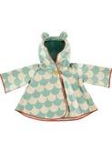 regenjas voor kinderen - green scales