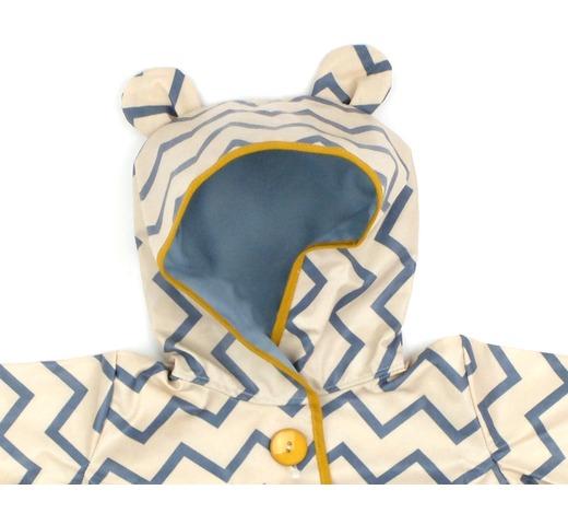Regenjas voor kinderen zigzag blue mode accessoires kinderkleding 0 8 jaar nobodinoz - Deco slaapkamer jongen jaar ...