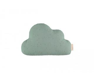 Cloud cushion toffee sweet dots - eden green - Nobodinoz