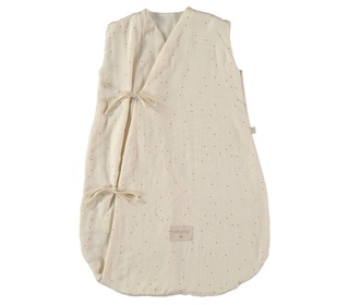 Dreamy summer sleeping bag Honey sweet dots - Nobodinoz