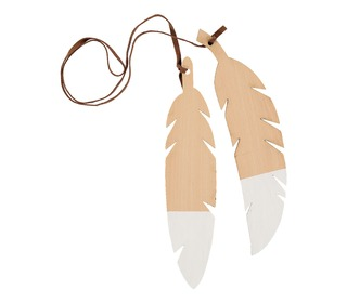 Feathers duo white - Nobodinoz