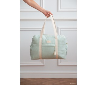 Opera waterproof maternity bag aqua - Nobodinoz
