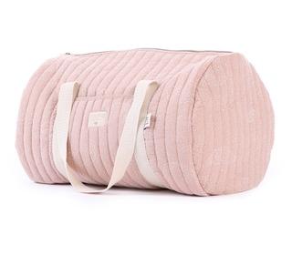 New York weekend bag white bubble/misty pink - Nobodinoz