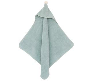 So Cute baby bath cape green - Nobodinoz