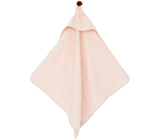 So Cute baby bath cape pink - Nobodinoz