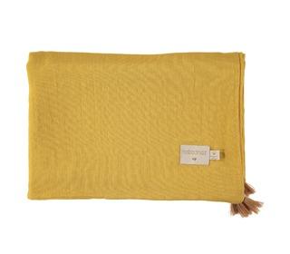 Treasure summer blanket farniente yellow - Nobodinoz