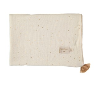 Treasure summer blanket honey sweet dots - Nobodinoz