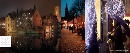 Kerstshoppen in Brugge