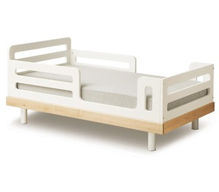 Classic Toddler Bed Conversion White - Oeuf NYC