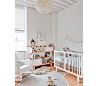 Sparrow Crib White - Oeuf NYC