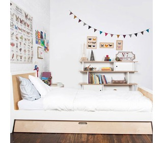 Sparrow Trundle Bed Birch - Oeuf NYC