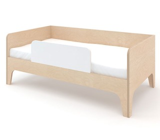 Perch toddler bed White/Birch - Oeuf NYC