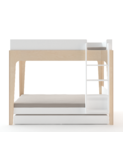 Perch Trundle bed white/birch