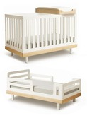 Classic Toddler Bed Conversion White