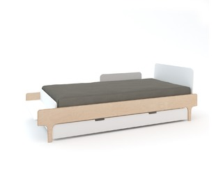 River Trundle Bed White - Oeuf NYC