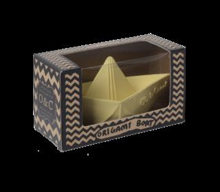 Badspeeltje origami bootje vanilla - Oli & Carol