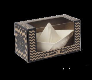 Badspeeltje origami bootje white - Oli & Carol