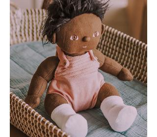 Dinkum Dolls Single Romper - rose - Olli Ella