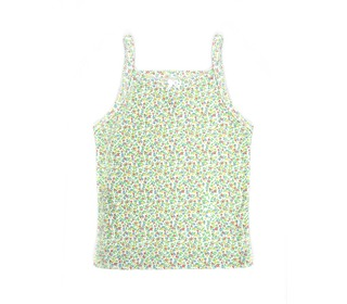 onderhemdje retro groen | Petit Bateau