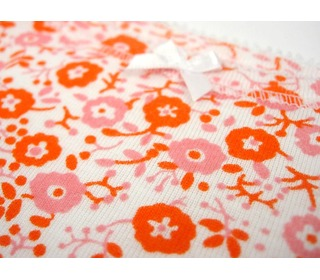 onderhemdje retro oranje | Petit Bateau