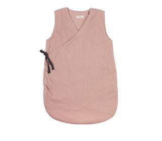 Cross-over summer sleeping bag - vintage blush 0-6m - Phil & Phae